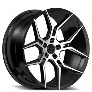 Qty4 Giovanna Haleb Black 20x9 20x10 5 Wheels Fit Ford Mustang Shelby Gt500