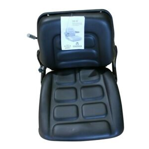 Suspension Forklift Seat Fits Some Yale Clark Crown Hyster Komatsu Linde Nissan