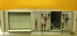 Tektronix 5110 2 Mhz Single Beam Non storage Oscilloscope Mainframe Tested
