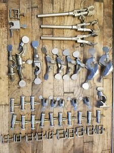 43 Vintage Lab Utility Clamps Fisher Scientific Castaloy Humboldt Mfg Co