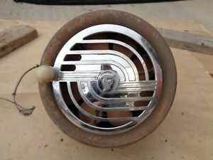 Firestone Supreme Hot Water Heater Art Deco Ford Chevy Plymouth Dodge Hudson