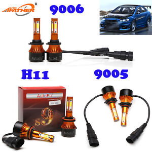 Led Cree Headlight 9005 9006 H8 Kit Car Accessories Hb3 9012 For Mitsubishi