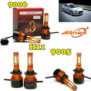 New led Cree Headlight 9005 9006 H8 Kit Car Accessories Hb3 9012 For Mitsubishi