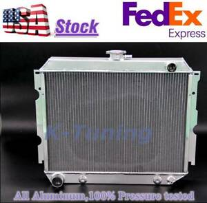 3 Row Aluminum Radiator Fit 68 73 Plymouth Satellite Big Block 16 x22 Wide Core