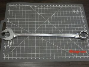 Snap On Tools Large Sae Combination Wrench 1 11 16 Oex54 12pt Tubular