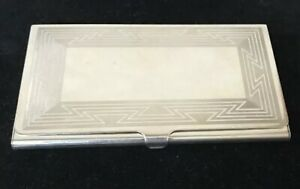 Vintage Tiffany Co Business Card Case Holder Sterling Silver 925 Excellent