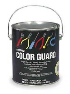 Loctite 34983 Synthetic Rubber Protectant Color Guard Blue Tool Dip 1 Gallon
