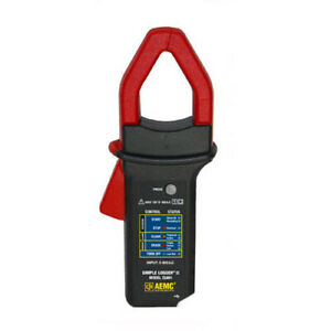 Aemc Cl601 Simple Logger Ii clamp on Rms Current 0 To 600arms Input