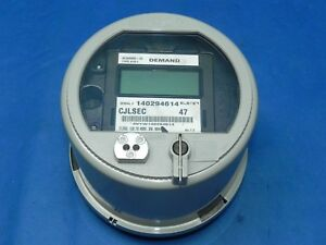 Elster Watthour Meter Kwh A1d 4 Lug 120 480v
