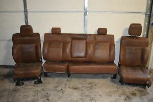 2004 2008 Ford F150 Front And Rear King Ranch Seat Set