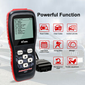 Xtool V401 Engine Transmission Airbag Abs Obd2 Codes Auto Diagnostic Scanner