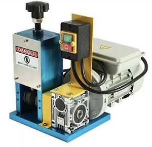 Cable Wire Stripping Machine Electric For Scrap Copper