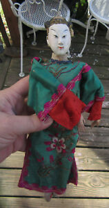 Japanese Antique Figure Man Wired 10 5 Figure Doll