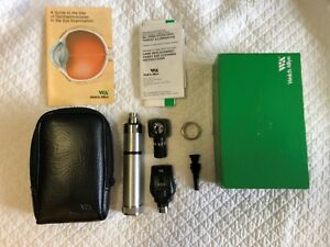 Welch Allyn Diagnostic Set Complete With Otoscope Ophthalmoscope Handle