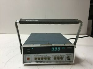 Leader Model Ldc 823s 250mhz Digital Counter Power On For Parts