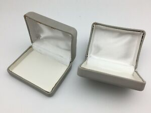 Lot 360 Grey Jewelry Gift Boxes Wholesale 3 25x2 5x1 25 Discoloration