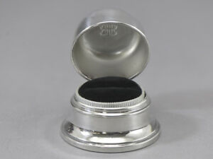 Vintage Birks Ring Box Double B Dome Top