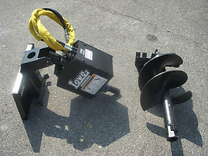 Toro Dingo Mini Skid Steer Attachment Lowe 750 Auger Drive 18 Bit Ship 199