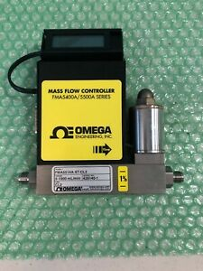 Omega Fma5514a st cl2 With Mass Flow Controller Fma5400a 5500a Series