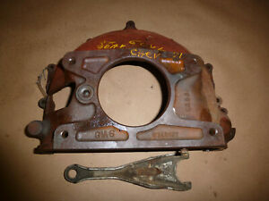 Vintage 1958 1959 1960 Chevy 6cyl Manual Bellhousing 3742237 Date G 5 0