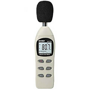 Extech 407730 Digital Sound Level Meter 40 130db Lcd Display