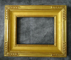 Hand Carved Picture Frame 22k Gold Leaf Richard Tobey For California Plein Air