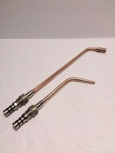 Lot Of 2 Smith Torch Heating Tip St603 Rosebud And Sw207 Welding Tip