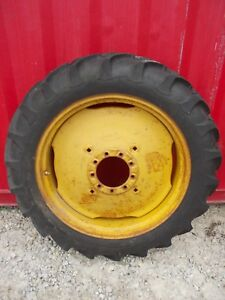 11 2 X 34 Tire 90 Massey Harris John Deere Tractor 9 Bolt Press Steel Rim