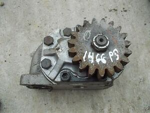 Farmall 1466 Tractor Ih Ihc Good Working Power Steering Pump Assembly