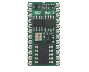Parallax Inc Bs2 ic Basic Stamp 2 Microcontroller 20mhz 2 Kb Eeprom 24 pin