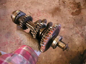 Farmall C Tractor Good Working Upper Top Transmission Gears Drive Shaft beari