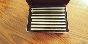 Parallels Set Starrett S384 1z New In Case