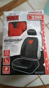 3 Peice Mickey Mouse Disney Seat Cover Set