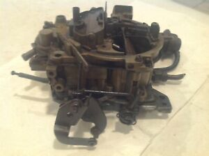 Carter Quadrajet 4 Barrel Carburetor 17059205 1979 Chevy Chevrolet