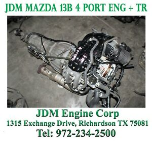 Mazda Rx8 Engine Renesis Engine Msp Jdm 13b 4 Port Engine Rx 8 Rotary Engine 1 3