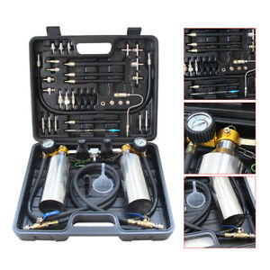 New Fuel Injector Cleaner Adapter Kits Suitcase Non Dismantle Us Stock