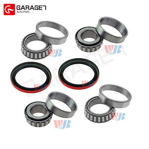 Front Wheel Bearing Race Seal Kit Assembly Fit Chevrolet Astro 3 Door 4 3l
