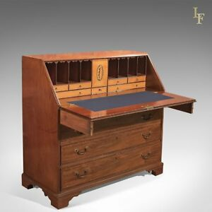 Antique Bureau Georgian Mahogany C 1780