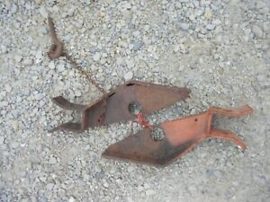 Allis Chalmers Ac Tractor Cultivator Mounting Brackets To Front Tractor