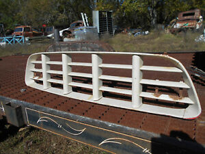 Original 1955 1956 Chevrolet Pickup Truck Grill Nice Clean Vintage Chevy 1 2 Ton
