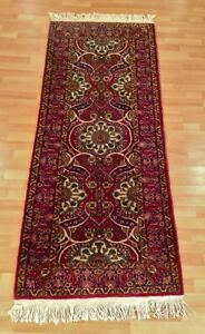Beautiful Oriental Area Rug Runner Hand Knotted Persian Wool 6 83 X 2 66 Feet