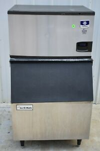 2017 Manitowoc Iy0304a 310lb Air Cooled Ice Machine With Bin