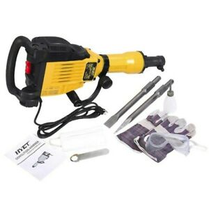 Electric Demolition Concrete Jack Hammer Drill Concrete Breaker 3600watt W Case
