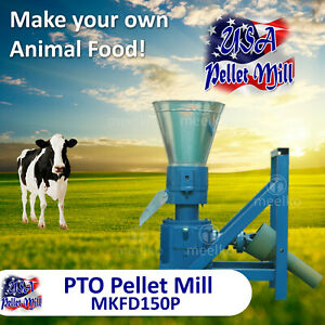 Pto Pellet Mill For Cow s Food Mkfd150p Usa