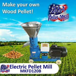 Electric Pellet Mill For Wood Mkfd120b Usa