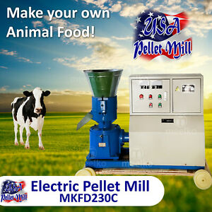 Electric Pellet Mill For Cow s Food Mkfd230c Usa
