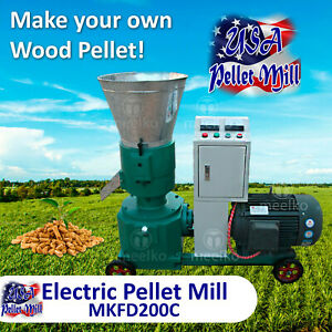 Electric Pellet Mill For Cow s Food Mkfd200b Usa