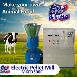 Electric Pellet Mill For Cow s Food Mkfd300c Usa