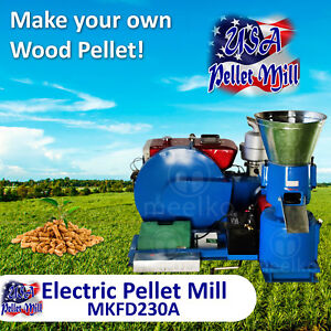 Diesel Pellet Mill For Wood Mkfd230a Usa