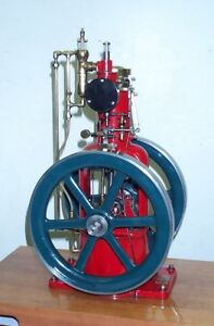 Old Gearless Hit And Miss Model Engine Mechanics Kit Made By Debolt Machine Inc